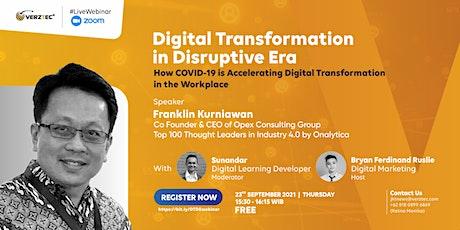 Digital Transformation in Disruptive Era tickets