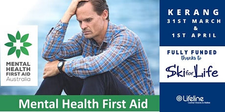 Mental Health First Aid - 2 Day Workshop - KERANG tickets