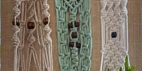 Macrame for beginners: make a plant hanger tickets