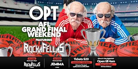 OPT Grand Final Weekend 2021 tickets