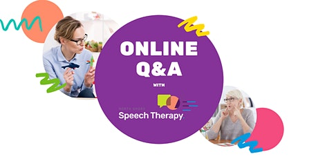 Free Q&A Session for Speech Therapy Graduates tickets