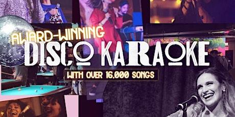 Tuesday Night Award-Winning Disco Karaoke Show w/ singer Regina Martin NYC tickets