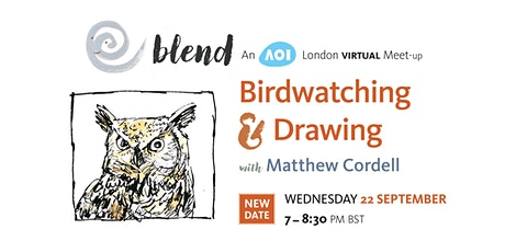 Birdwatching & Drawing with Matthew Cordell tickets