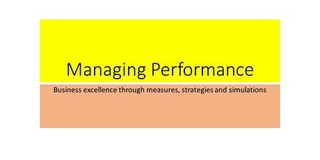 MANAGING PERFORMANCE tickets
