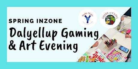 Inzone- Dalyellup Gaming & Art Evening tickets
