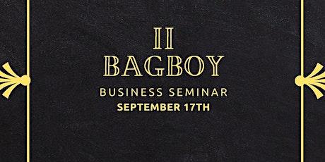 BagBoy Business Seminar 2 tickets