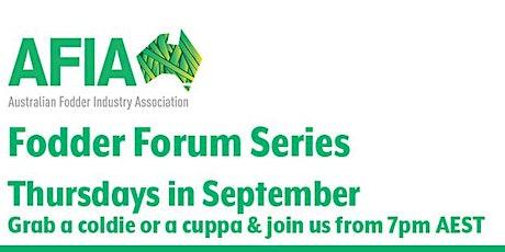 AFIA Fodder Forum Series tickets