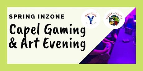 Inzone- Capel Gaming & Art Evening tickets
