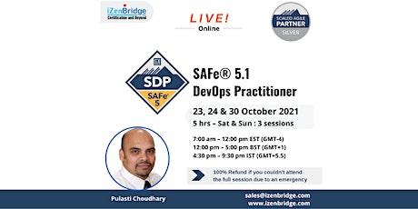 SAFe® 5.1 DevOps Practitioner 23, 24 & 30 October 2021 tickets