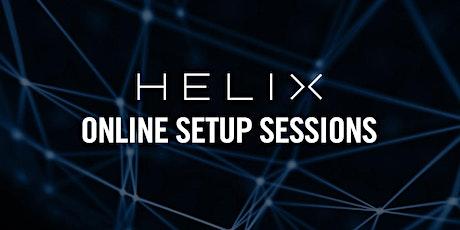 Helix Online Setup Sessions - Scandinavia tickets