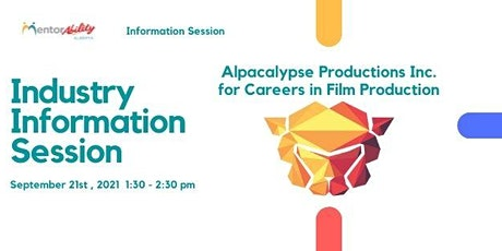 MentorAbility Industry Information Session: Careers in Film Production tickets