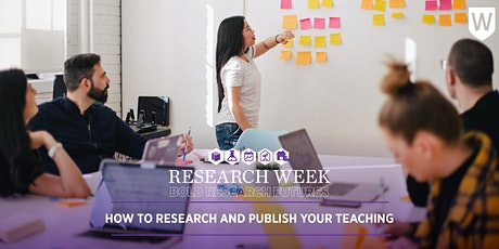 How to Research and Publish Your Teaching tickets