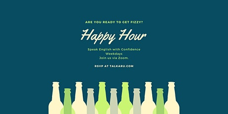 Happy Hour | English Conversation Class tickets