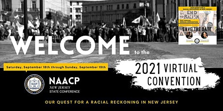 NAACP NJSC 2021 Virtual Convention tickets