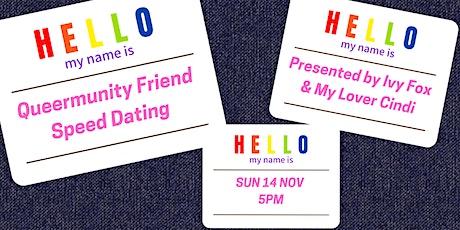 Queer Friend Speed Dating tickets