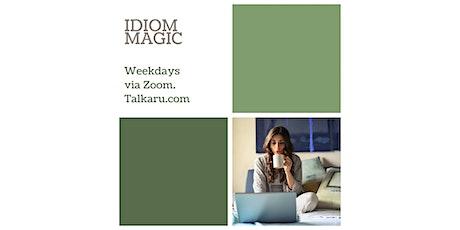 Idiom Magic | Spoken English Vocabulary Class tickets