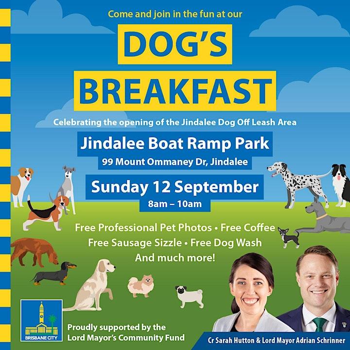 Dog's Breakfast - Jindalee Dog Off-Leash Opening! image