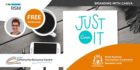 Branding with Canva (Wagin) tickets