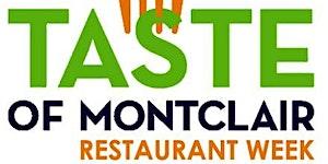 Restaurant Participation Form for Montclair Restaurant...