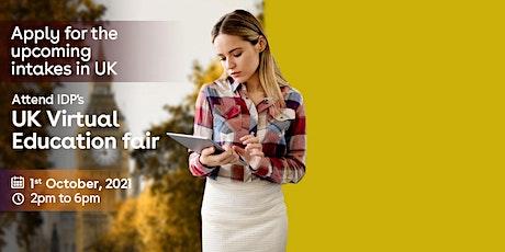 Attend UK Virtual Education Fair 2021 tickets