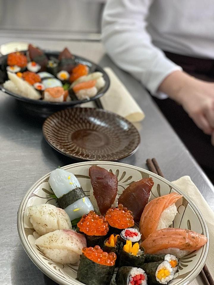 Homemade Sushi-Making Class with Shima Shimizu image