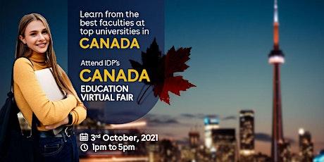 Attend Canada Virtual Education Fair 2021 tickets