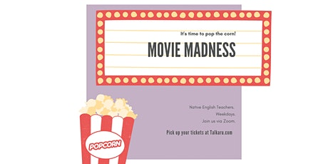 Movie Madness | Spoken English Practice tickets