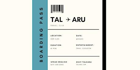 Travel Club | English Conversation Class tickets