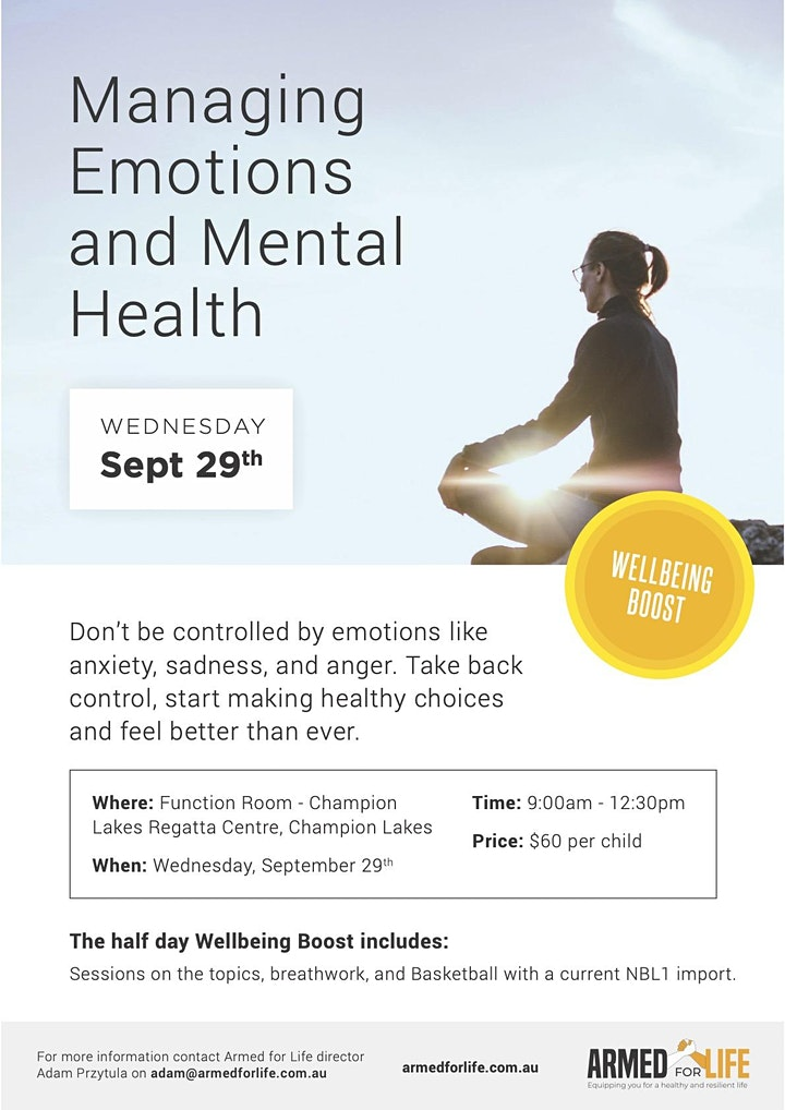 Wellbeing Day: Self-awareness and Managing Emotions image