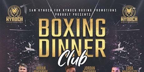Boxing Dinner Club tickets