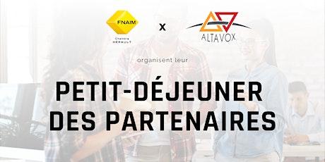Petit-déjeuner des partenaires - Altavox billets