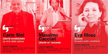ff21 | SINI - CACCIARI - ILLOUZ | Modena, Piazza Grande biglietti