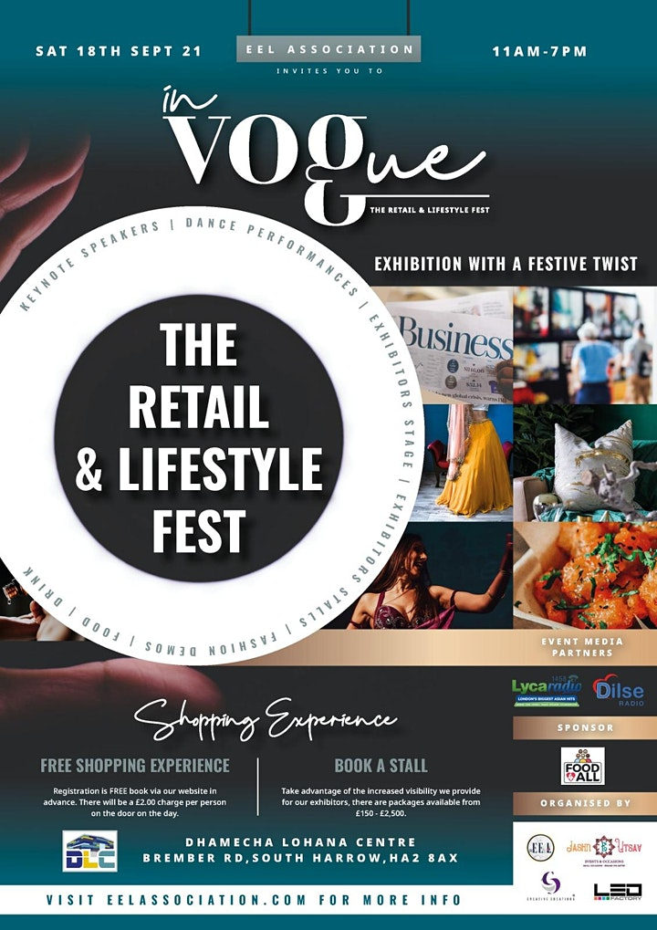 EEL Association - In Vogue: The retail and lifestyle trade exhibition image