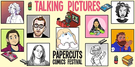 Talking Pictures (Papercuts Comics Festival 2021 day 2) tickets