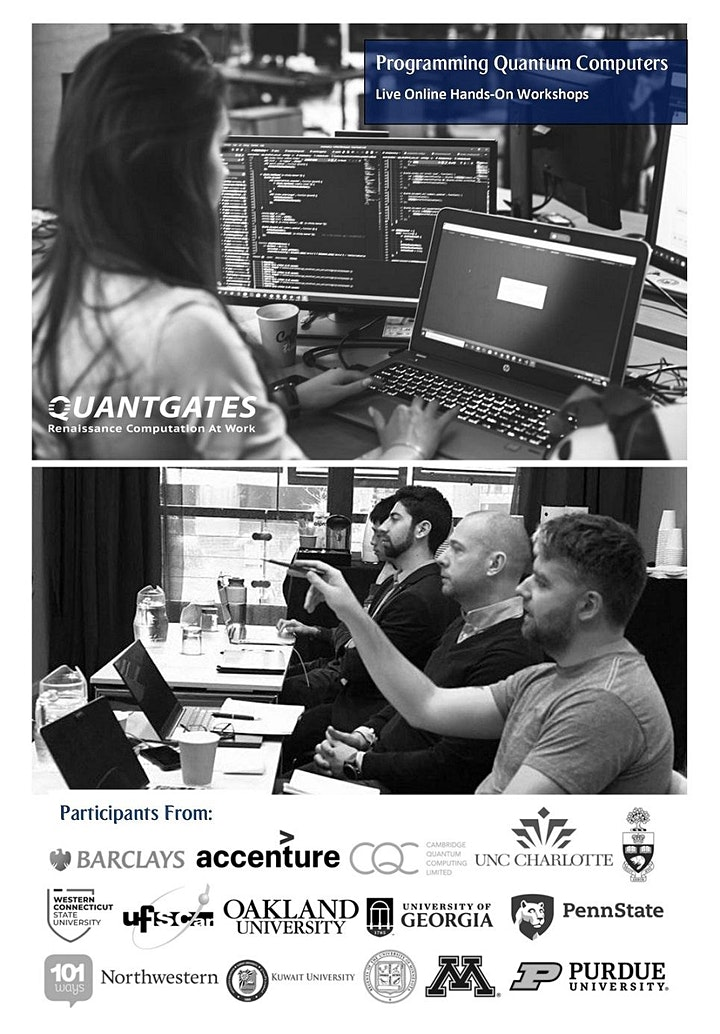 Practical Quantum Computing: Live Online + 4 Week Tech Support-NYC image