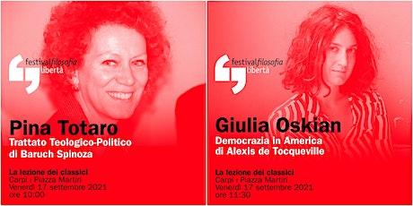 ff21 | TOTARO - OSKIAN | Carpi, Piazza Martiri biglietti