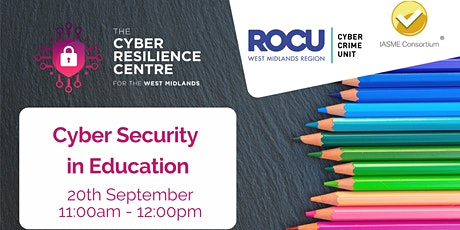 Cyber Security in Education tickets