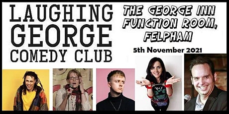 LAUGHING GEORGE COMEDY CLUB - 5th November 2021 tickets