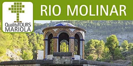 Senderismo interpretativo yacimiento arqueológico industrial río Molinar. entradas