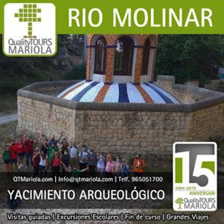 Imagen de Senderismo interpretativo yacimiento arqueológico industrial río Molinar.