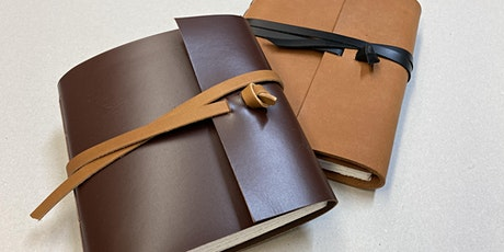 Soft Leather Journal - Bookbinding Workshop tickets
