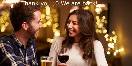 Speed Dating Ages 30 to 40  5 LADIES & 3 MALE SPOTS tickets