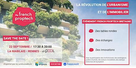 Afterwork French Proptech de l'urbanisme et de l'immobilier breton billets