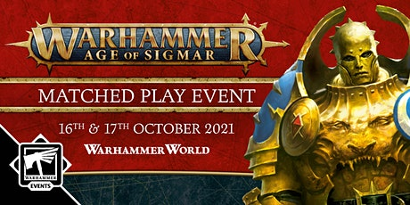 Warhammer Age of Sigmar Matched Play tickets