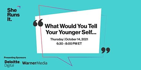 VIRTUAL EVENT: What Would You Tell Your Younger Self... tickets