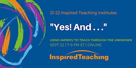 September Inspired Teaching Institute (ONLINE) tickets