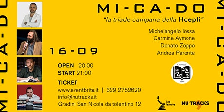 MI-CA-DO : la triade campana della HOEPLI tickets