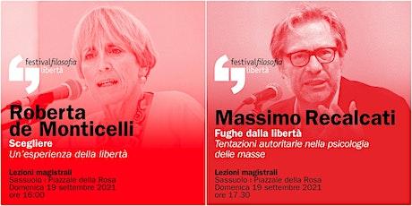 ff21   DE MONTICELLI - RECALCATI   Sassuolo, Piazzale della Rosa biglietti