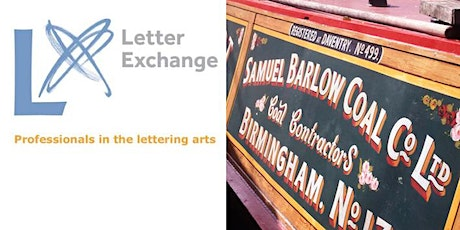 Letter Exchange Lecture by Tony Lewery, Signpainter and author tickets