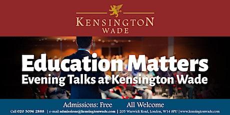 Education Matters Talk: Prof. Mark Bailey tickets